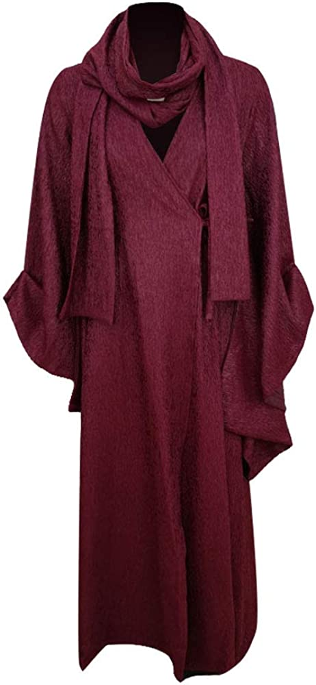 Melisandre Costume Halloween High material Cosplay Party Long with Scarf Superior Dress