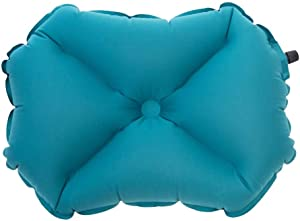 Awesome Shopper Large Teal Camping Pillow X Soft Inflatable Outdoor Travel