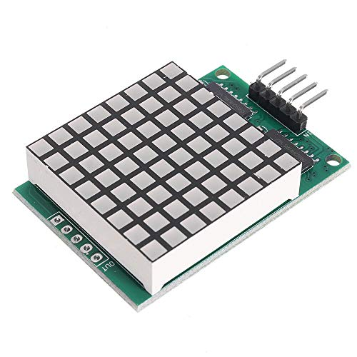 JISHIYU-Q 3pcs DM11A88 8x8 Lame Matrix Red LED Dot Display Module UNO MEGA2560 DUE Raspberry Pi for Arduino