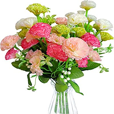 EverWin Artificial Fake Flowers for Decoration ...