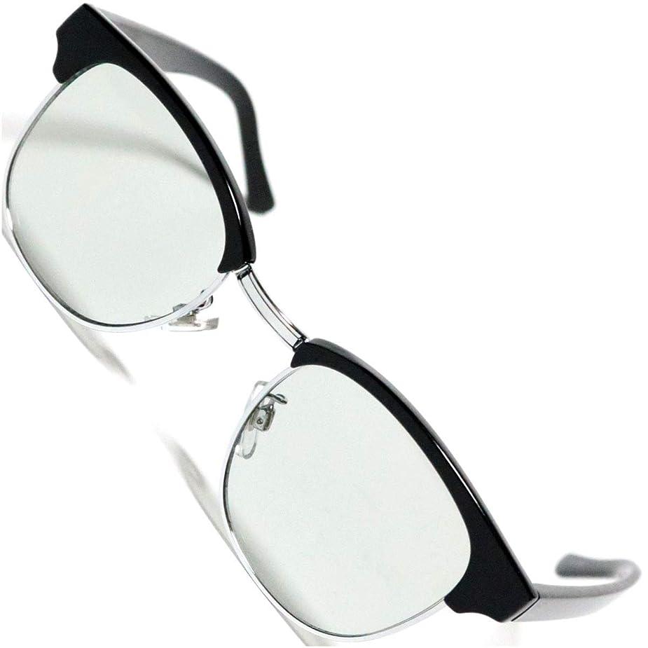ライド口径世紀[Berkut] 【2019モデル】 伊達メガネ 透明レンズ スクエア 軽量 疲れにくい 目にやさしいレンズ 1040169