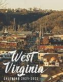 West Virginia Calendar 2021-2022: Special Monthly Calendar & Planner - 2 Years Calendar (2021-2022)