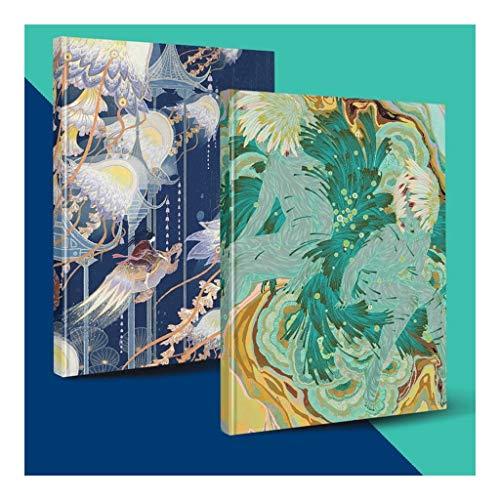computadora portátil Clásico Cuaderno en blanco, cuaderno de hojas sueltas Cuaderno borrador de bocetos de dibujo pintura, ideal for los niños, adolescentes y AdultsProfessional cuaderno de escritorio