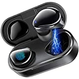 Wireless Earbuds, MEGIVEZ Bluetooth 5.0 Headphones 6H Continuous Playtime Touch Control Waterproof TWS Stereo in-Ear Earpiece with Charging Case, Deep Bass Built-in Mic Sports Bluetooth Headset