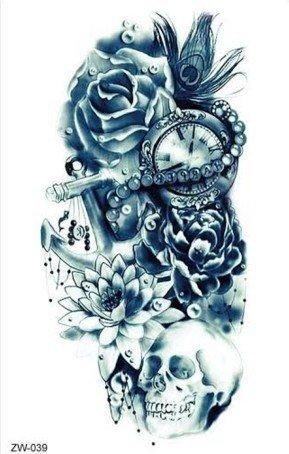 taschenuhr tattoos