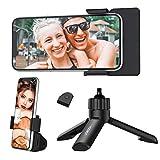 Yoozon Trípode Selfie de Mano, Mini Soporte Portátil Multifucional de teléfono, Función de cámara SLR, Monopié Antivibración y Rotación 360° para Selfie, Video Youtube, Videollamada,TikTok, Twitter