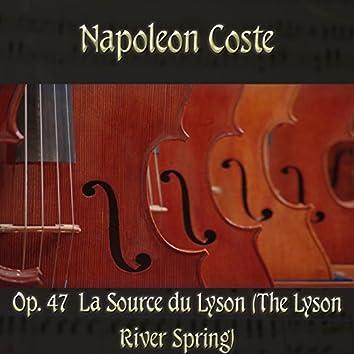 Napoleon Coste: Op. 47  La Source Du Lyson (The Lyson River Spring)