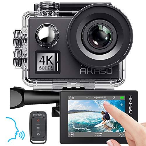 AKASO -   Action cam 4K/60fps