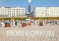 Moin Borkum (Wandkalender 2022 DIN A4 quer): Die beliebte Insel auf brillanten Fotografien erleben. (Monatskalender, 14 Seiten )