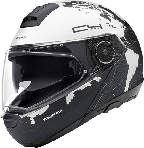SCHUBERTH Unisex C4 Pro Motorradhelm, Weiß (Magnitudo White Mat), 55 (S)