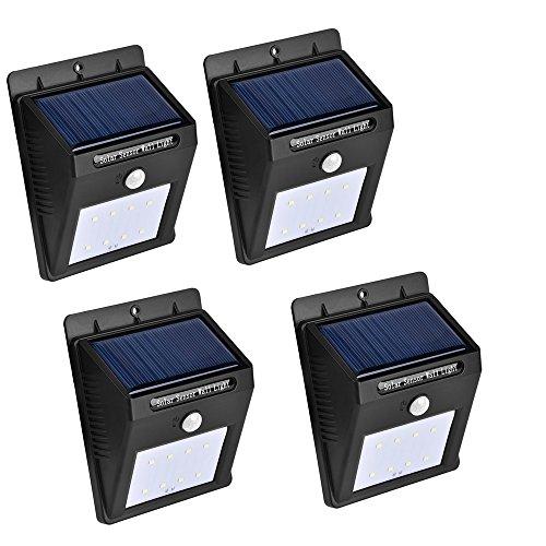meilleures lampes de jardin solaires pour l'extérieur Favson Boule en Verre Solaire changeant de Couleur LED Lampes de Jardin