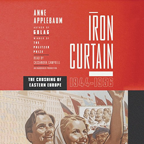 Iron Curtain audiobook cover art