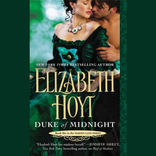 Duke of Midnight audiobook cover art