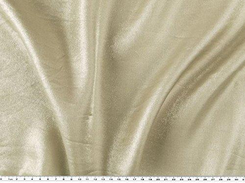 Glitzerstoff mit samtiger Oberflache, beige, 150cm