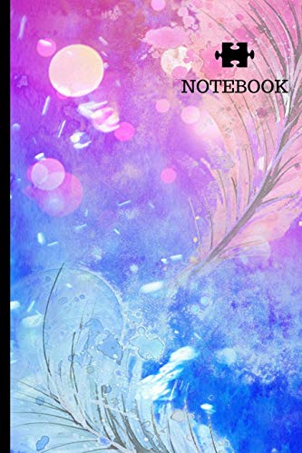 Notebook: Abstract Art Surreal Modern Expressive Writing Journal 6x9 Lined Paper