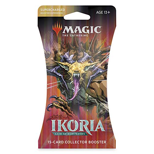 Magic: The Gathering Ikoria: Lair of Behemoths Collector Booster | 15 Card Booster Pack | Stylized Collectible Cards (C77470000)