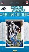 Carolina Panthers 2015 Score Factory Sealed NFL Football 13 Card Team Set Including Cam Newton and Shaq Thompson Rookie Plus