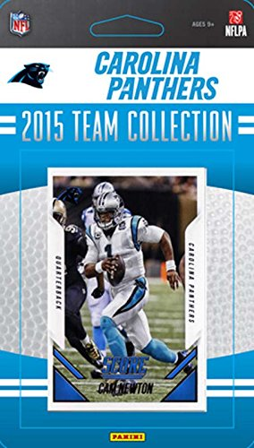 Carolina Panthers 2015 Score Factory Sealed NFL Football 13 Card Team Set Including Cam Newton and Greg Olsen Plus