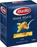 Barilla Pasta Penne Rigate, Pasta Corta di Semola di Grano Duro, I...