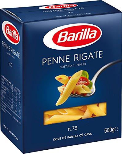 Barilla Pasta Penne Rigate, Pasta Corta di Semola di Grano Duro, I Classici, 500 g