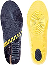 Copper Fit Work Gear Comfort Insoles Arch Support, Black, One Size