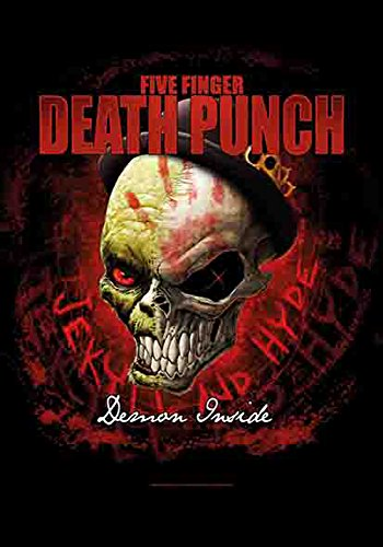 5 doigts Death Punch – Dapper – poster drapeau 100% polyester – 75 x 110 cm