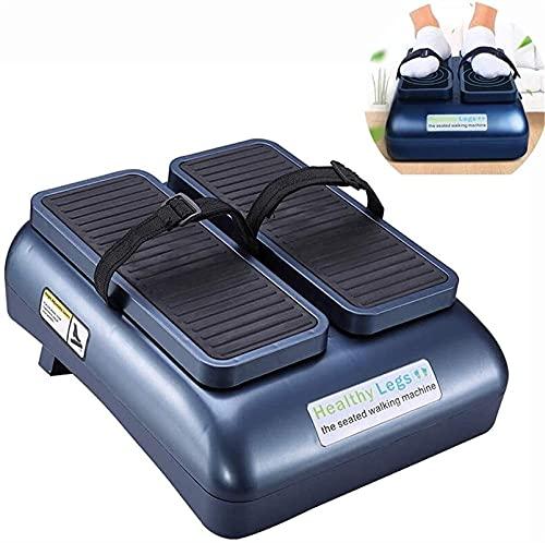 TTSDRD Plataforma vibratoria Power Legs Plataforma de masajeador de pies con Cabezales de acupresión giratorios Masajeador eléctrico de configuración múltiple (Color : Blue)