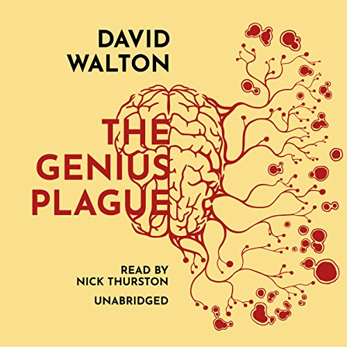 The Genius Plague audiobook cover art