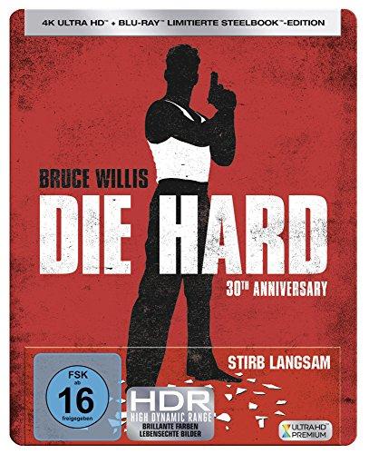 Stirb Langsam UHD Steelbook [Blu-ray] [Limited Edition]