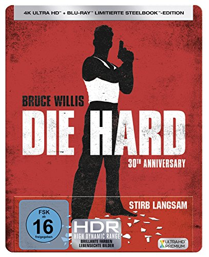 Stirb Langsam UHD Steelbook [Blu-ray] [Limited Edition]