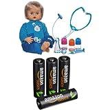 Pack Cicciobello Bobo + 4 Piles AmazonBasics AA Rechargeables