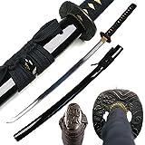 Ace Martial Arts Supply Classic Handmade Samurai Katana Sharp Sword-Musha (Flyingd Dragon Hidden On Cloud)