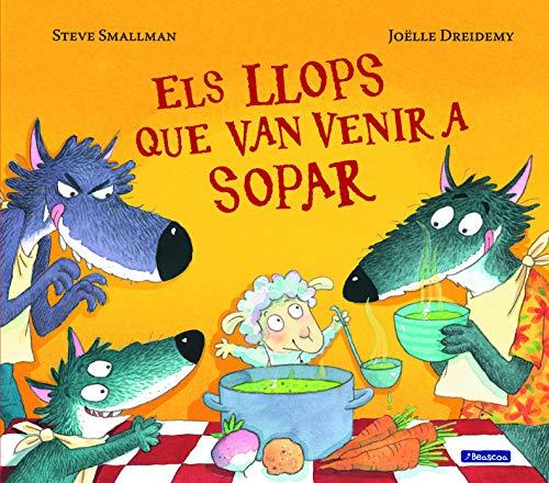 Els llops que van venir a sopar (Contes infantils)