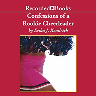 Confessions of a Rookie Cheerleader audiobook cover art
