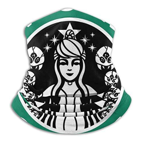 Xebcivso Metroid Starhunt Samus Aran Kaffee Unisex Multifunktionale Kopfbedeckung Bandana Gesichtsschutz UV/Staubschutz Wiederverwendbare waschbare atmungsaktive Sturmhaube