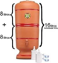 Filtro De Barro São Pedro 8 Litros com 2 Boias