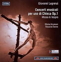 Giovanni Legrenzi: Concerti musicali per uso di Chiesa