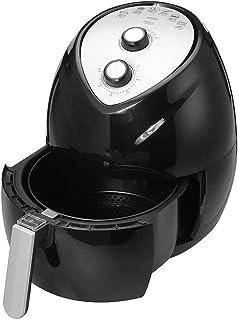 PLEASUR Friteuse électrique 5.2L friteuse à air Domestique friteuses sans fumée Four électrique à Double Pot Grande capacité