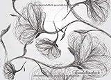 Kondolenzbuch: Trauerbuch für Beileidsbekundung und Beerdigung   Gästebuch für persönliche Erinnerungen mit Rosen-Ornamenten   Blumen-Cover