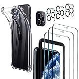 Luibor Verre Trempé iPhone 11 Pro Max+ Coque iPhone 11 Pro Max+ Caméra Arrière Protecteur + Outil...