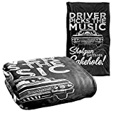 Supernatural Driver Picks Music Silky Touch Super Soft Throw Blanket 36' x 58'
