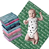 """Personalized Baby Blanket with Name Custom Baby Blanket Flannel Plush Baby Customized Blankets Personalized Baby Blankets for Boys and Girls Custom Name Baby Blanket' (30""""x40"""")"""