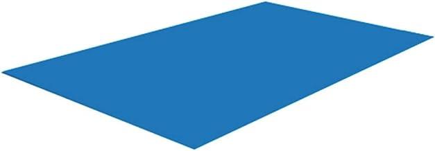 Zhihui Base rectangular para piscina de 290 210 cm/330 cm/230 cm/445 244 cm/500 300 cm. Piscina plegable, impermeable, alfombra rectangular