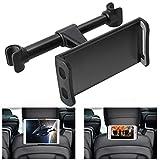 360° Rotation Car Headrest Mount, Phone Tablet Car Headrest Grip Mount Stand Cradle