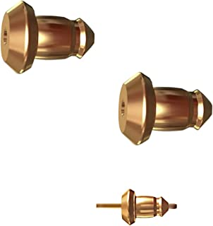 Lux Lock most secure USA Patented Replacement Earring Back in 14k Gold (Patent# US8365369)
