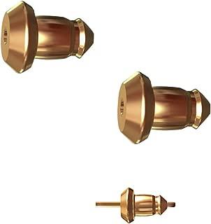 lock earrings design
