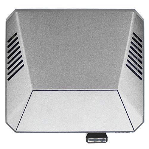 GEEKEN Argon One M.2 Carcasa para Pi 4 Modelo B M.2 SATA SSD una USB 3.0 Soporte de Placa UASP Ventilador Incorporado Carcasa de Aluminio