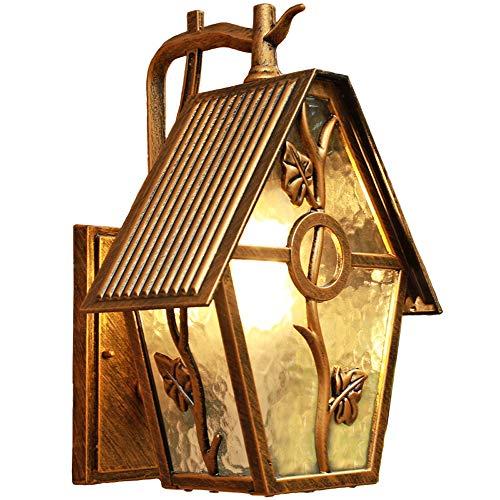 Américain Imperméable Murale Lampes, Nordic LED En Verre En Aluminium Décoratif En Suspension Extérieure Lampe Murale Vintage Créatif Allée Cour Salon Salle De Bougeoir