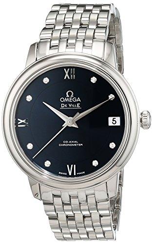 Omega 42410332053001 - Orologio da polso da donna, analogico, automatico, in acciaio INOX