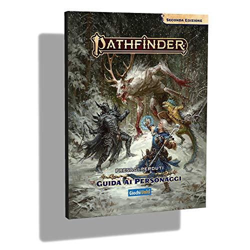 Giochi Uniti- Pathfinder 2-Presagi Perduti Guida ai Personaggi Gioco Avventura, Colore Illustrato, GU3611